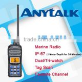 AT-35M IP67 waterproof marine two way radio