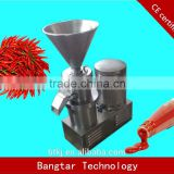 fresh chili grinding machine/chili sauce making machine/sauce sachet packing machine