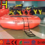 Customized water toys for the lake, popular inflatable aquatic trampoline, inflatable commercial water park toys