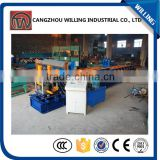 Superior Quality Colored grazed steel roof Tile metal stud c purlin drywall roll forming machine