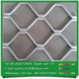 Aluminum picket fence beautiful grid wire mesh,ultra amplimesh for sale