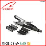 New flat iron ceramic coating plate hair straightener with removable comb