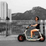 2016 Global hot products 800W 60V lithium-ion electric scooter citycoco/bicycle/motorcycle factory price