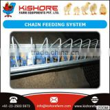 Broiler Chain Feeding System Made from Standard Galvanized Steel