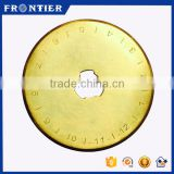 Titanium Coated Alloy Steel Sks-7 Quilting Straight Blade Factory, Round Blade For Fabric Machines