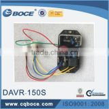 diesel generator automatic voltage regulator 10 wires spare parts single phase 5KW AVR DAVR 150S