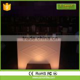 Straight translucent LED bar counter, luxury bar counterBar CounterLed Furniture Lighting Bar Table With Stainless Steel Chassis