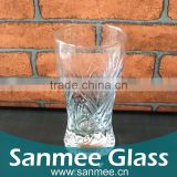 Hot Selling Embossed Beer Glass Cups for Wholesale