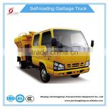 NJJ5073ZZZ 7 ton Isuzu Side Loader Mini Sewage Sludge Collecting Trucks