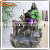 Good product artificial fountain wholesale indoor artificial waterfall fountain fake water fountain price