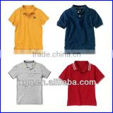 Wholesale bright color 100% cotton child clothing kids china factory polo shirts
