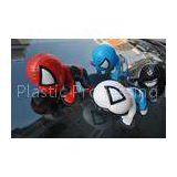 Pvc Spider-Man Anime Phone Accessories / Movie Character Models With Sucking Disc