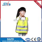 Hot sell emergency black kids safety vest