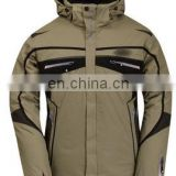 Outdoor waterproof camping and hiking nylon jacket