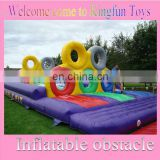 Inflatable obstacle courses games