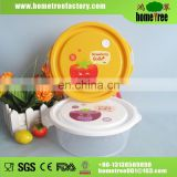 Brand 200ml Slim Round Microwave Air-vent Plastic Container Fruit Box Food Containers