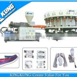 Single color Semi-automatic PVC direct injection shoe equipment