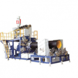 HDPE LARGE-DIAMETER STEEL WINDING PIPE EXTRUSION LINE