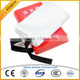 Fire Fighting Fireproof Customized Size Fiberglass Fire Blanket