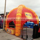 HOT sale outdoor Event inflatable tent with LED light/inflatable bubble tent