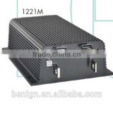 Industrial trucks, golf and utility vehicleswith Curtis Model 1221M programmable series motor controllers