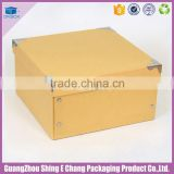 Good quality white cardboard clear plastic custom logo printing shorts gift box with lid