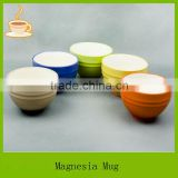 color grad of bowl,ceramic glazed colorful soup bowl without handle manufacturer