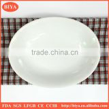 dish soap porcelain oval dish or plate for seasoning oil juice or soy sauce,oval napkin dish plate