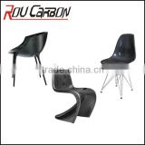 CARBON FIBER CHAIRS UNIQUE DESIGN ARTWORK CHAIR