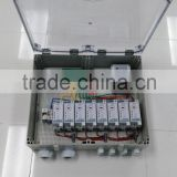 STS DIN Rail Keypad Split prepaid/post-paid Energy Meter Box with CIU