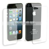 2 in 1 Anti Glare LCD Screen Protector for iPhone 5