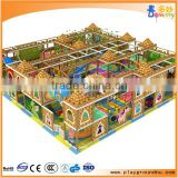 2016 High quality eco-friendly beauty castle gym indoor play area