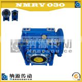 Reliable design worm speed gearbox/ gear reduction motor/ worm gear box made of aluminum alloy