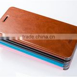 High Quality MOFI Brand Rui Series Luxury Flip Leather Stand Case For Lenovo VIBE P1 Cell Phone Cover TB-0126