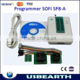 Hot Sofi SP8-A High Speed USB Universal Programmer(93/24/25/BR90/SPI BIOS), XP/vista/Win7 64Bits, Auto Programmer.hot sales!!!