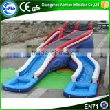 New style funny adult inflatable hurricane water slide for games                                                                                                         Supplier's Choice