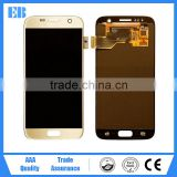 China wholesale lcd display for samsung galaxy s7 G9300 lcd panel touch screen with connector