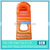 PVC Beach Inflatable Lounge Air Mattresses
