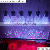wedding decoration crystal led RGB chandelier lighting weddings decoration wedding lighting wedding stage decorations(MHD-001)