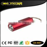 Onlystar GS-5001 Keychain key ring flash bright flashlight white light 3 led flashlight keychain                                                                         Quality Choice