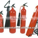 CO2 fire extinguisher cylinder and water base extinguisher