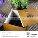 HONGDAO box for tie packing,wooden box for tie packing,customized wooden box with logo for tie packing