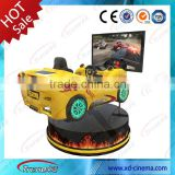 2015 Popular real driving feeling&attractive driving simulator equipment with servo motor