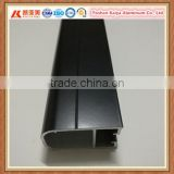 Factory price Colombia powder coated black aluminum profile for door and window                                                                         Quality Choice