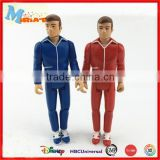 3d human plastic toy jointed action figure
