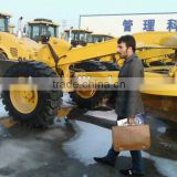 180hp-G8180C motor grader with Shanghai diesel engine ZF transmission hot for exporting to Russia