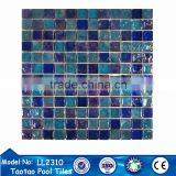 stained classic bathroom wall and floor tiles glass mosaic tile