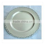 Plastic party fashion decorative plates