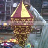 WHOLESALE LOT OF~DECORATIVE FABRIC LAMP-SHADE LANTERNS~SPECIALLY DESIGNED FOR WEDDING DECORATION