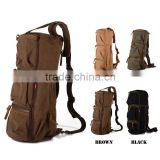 New wholesale Men's Vintage Canvas Duffle / Leather School / Military / Strapped Shoulder Bag Free Sample